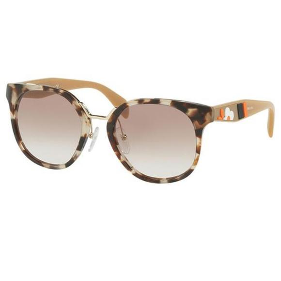 7c2e94e472e Prada Sunglasses Cat Eye Style Brown Gradient Lens. NWT. Prada.  M 5ca513511153ba0059e3e5e1. M 5ca51351264a55c5069155e2.  M 5ca513512f4831a0bfcbd90a